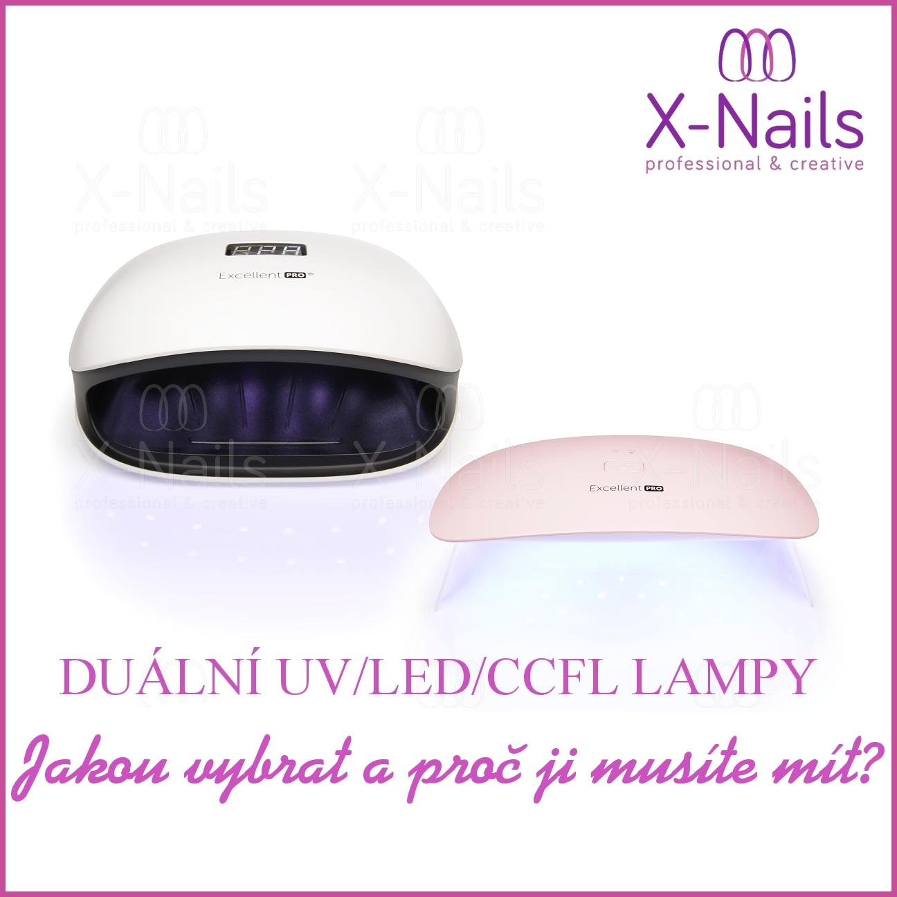 Duální UV/LED/CCFL lampy na nehty. Výkonné lampy za skvělé ceny!
