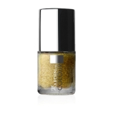 X-NAILS lak na nehty Color Line, 9 ml - GLITTER GOLD, glitrový - 90