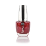 X-NAILS lak na nehty Color Line, 15 ml - GLITTER WINE - 127