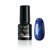 X-NAILS gel lak CAT EYE 6 ml - EUROPA (modrý)