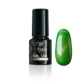 X-NAILS gel lak CAT EYE 6 ml - NEMESIS (zelený)