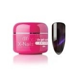 X-NAILS barevný UV gel Cat Eye Line, 5 ml - CAT EYE GEPARD