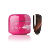 X-NAILS barevný UV gel Cat Eye Line, 5 ml - CAT EYE MARGAJ