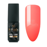 X-NAILS gel lak Flexi Line 4,5 ml - PAPAYA ORANGE