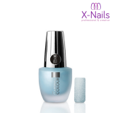 X-NAILS lak na nehty, 15 ml - 3D pískový efekt 117 - Sandy in Light Blue