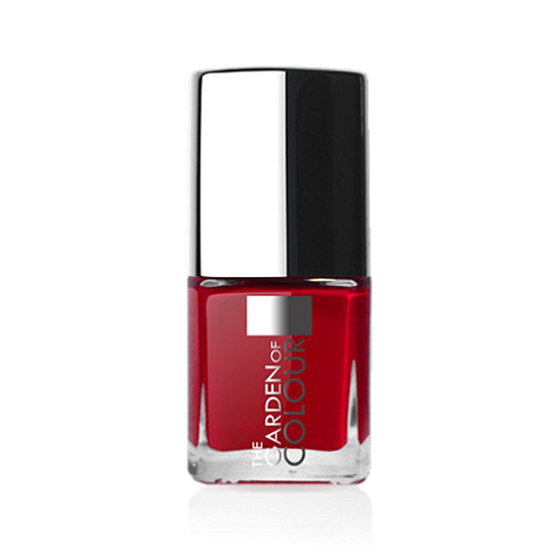 X-NAILS lak na nehty Color Line, 9 ml - CLASSIC RED, lesklý - 38