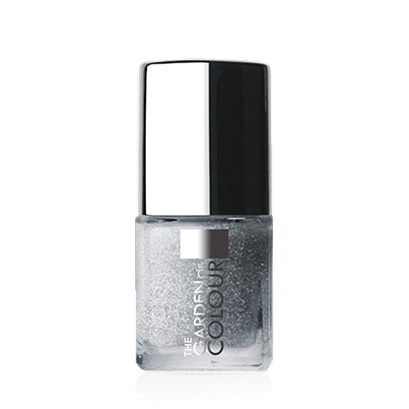 X-NAILS lak na nehty Color Line, 9 ml - GLITTER SILVER, glitrový - 91