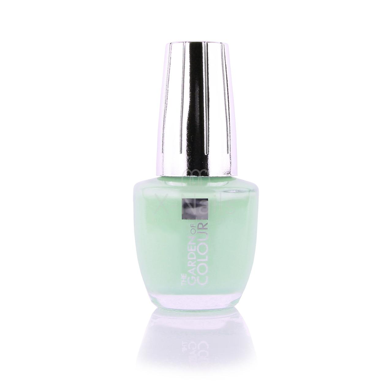 X-NAILS lak na nehty Color Line, 15 ml - LIGHT MINT, lesklý - 144