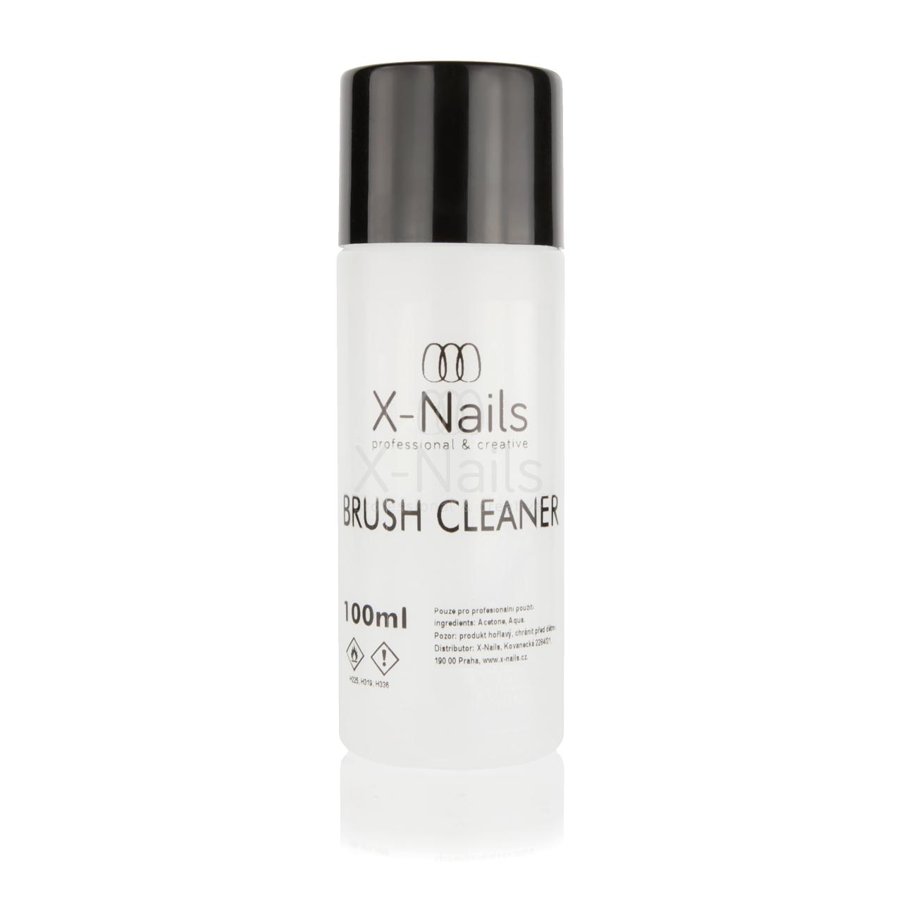 X-NAILS Brush cleaner, 100 ml - Čistič štětců