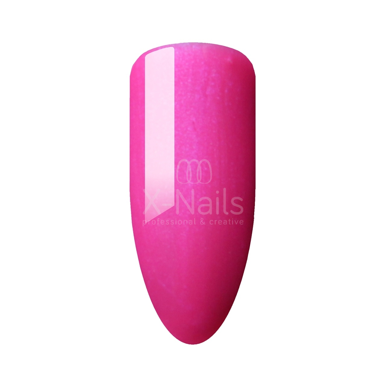 X-NAILS One step gel lak 5 ml - METALLIC FUCHSIA PINK