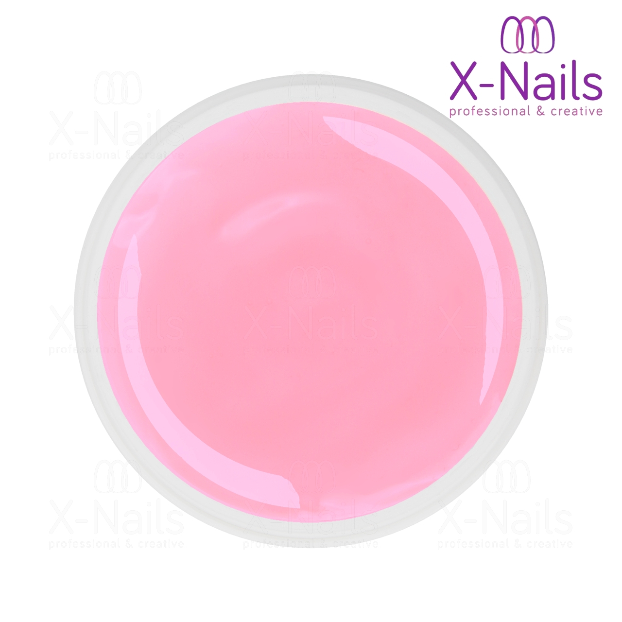 X-NAILS UV Classic Line Akrygel, 15 ml - ACRYGEL COVER PINK