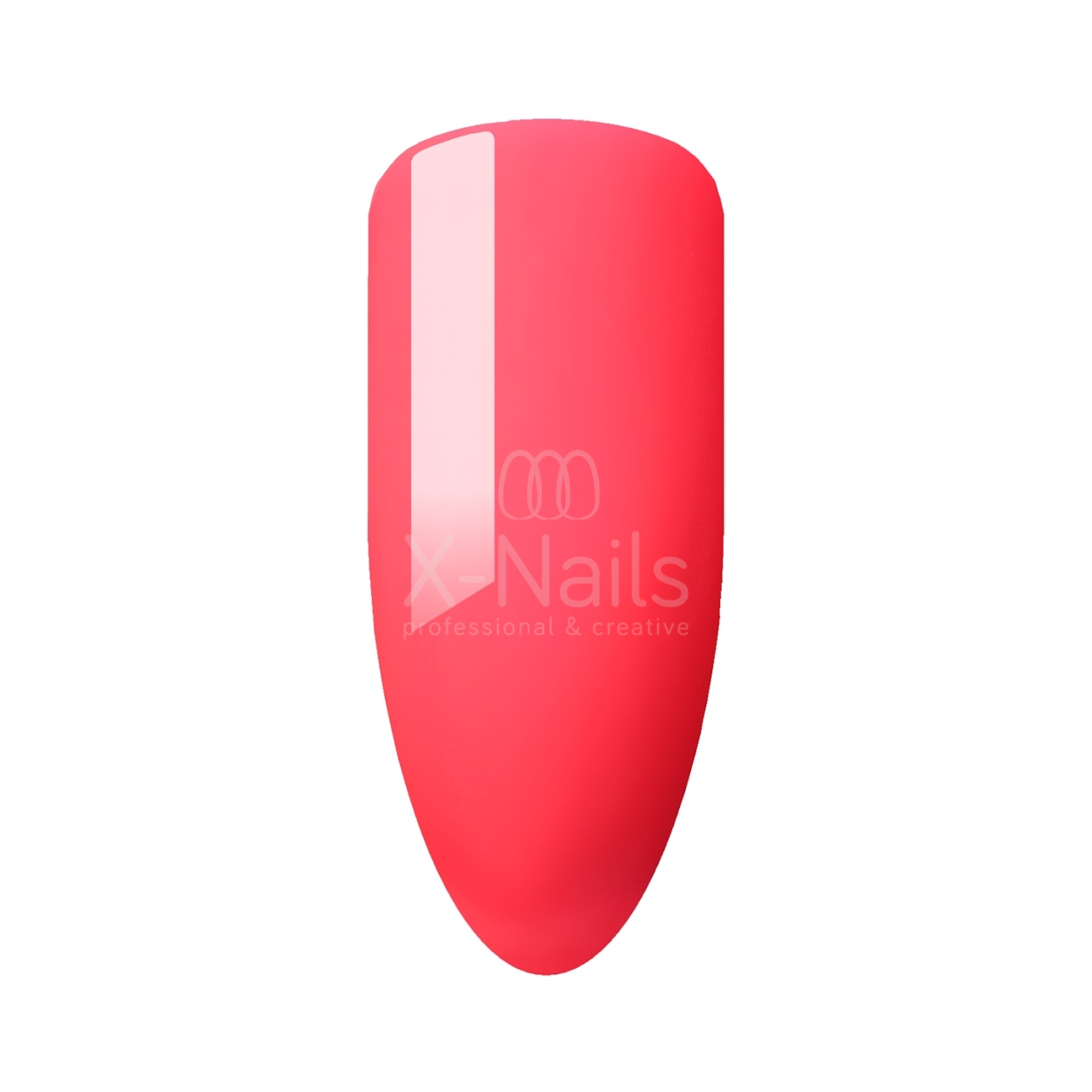 X-NAILS gel lak Amazing Line, 5 ml - NEON CORAL SUNSET