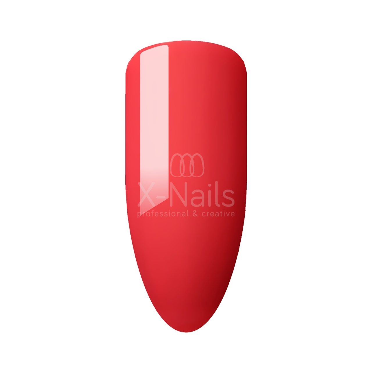 X-NAILS gel lak Amazing Line, 5 ml - LAVA RED