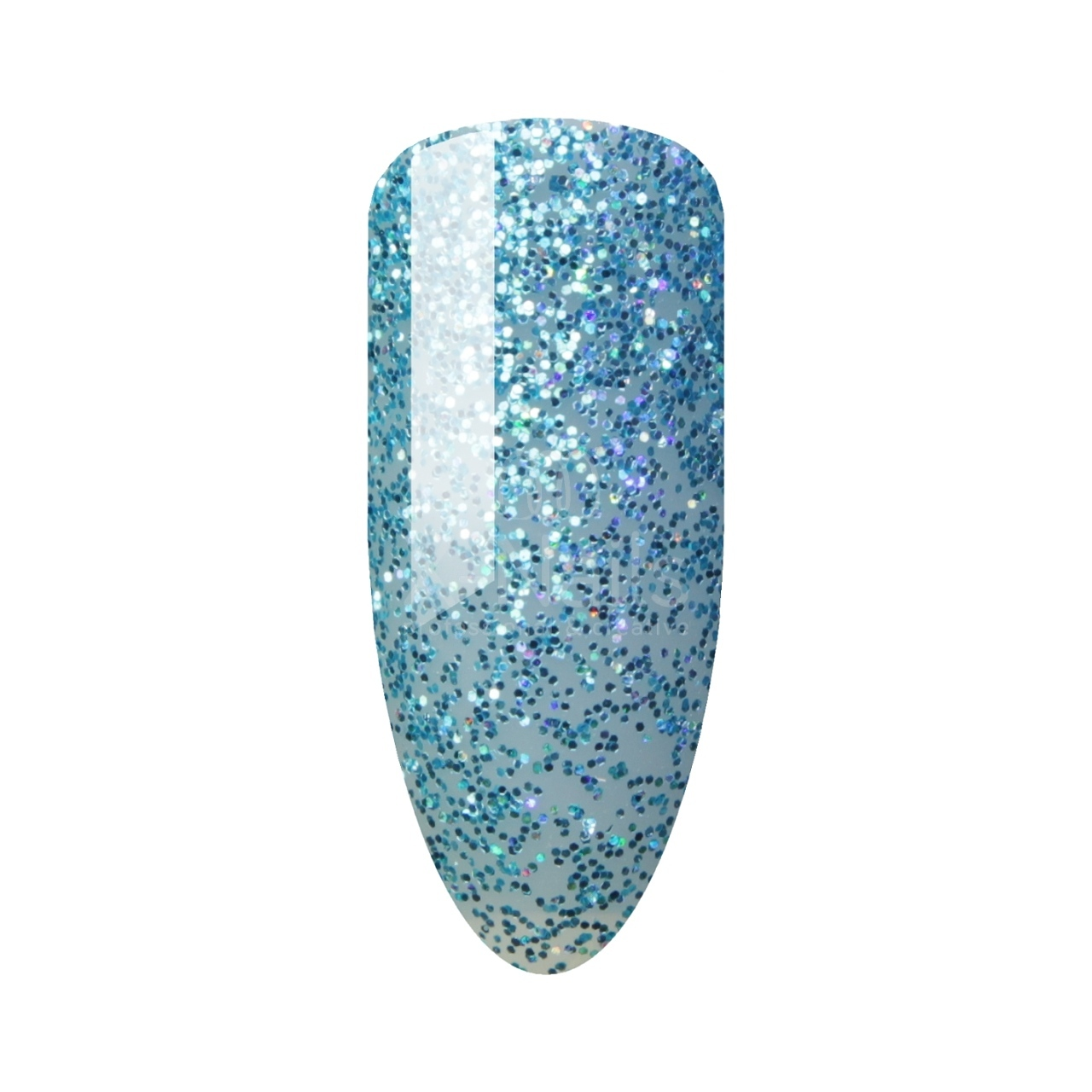 X-NAILS gel lak Amazing Line, 5 ml - GLITTER BLUE
