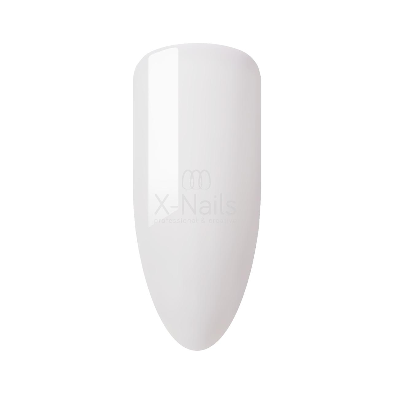 X-NAILS Bílý UV gel Classic Line, 15 ml - WHITE 4