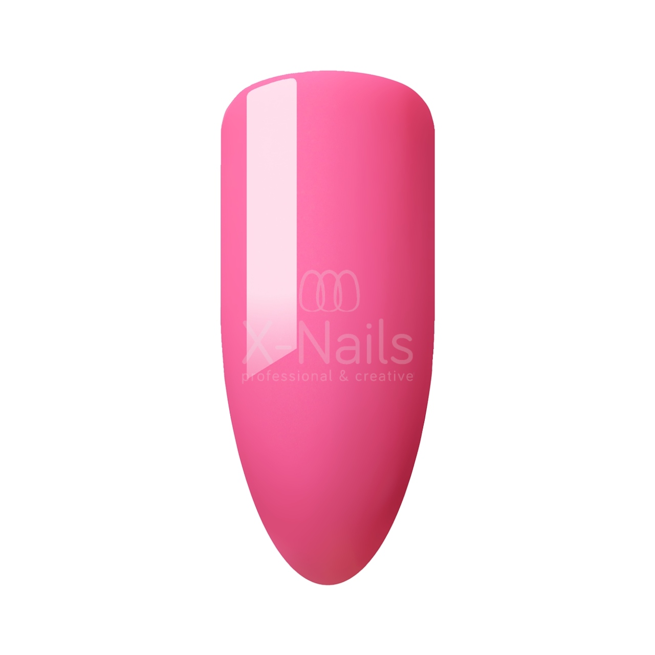 X-NAILS Gel lak Color Line, 15 ml – TRENDY PINK