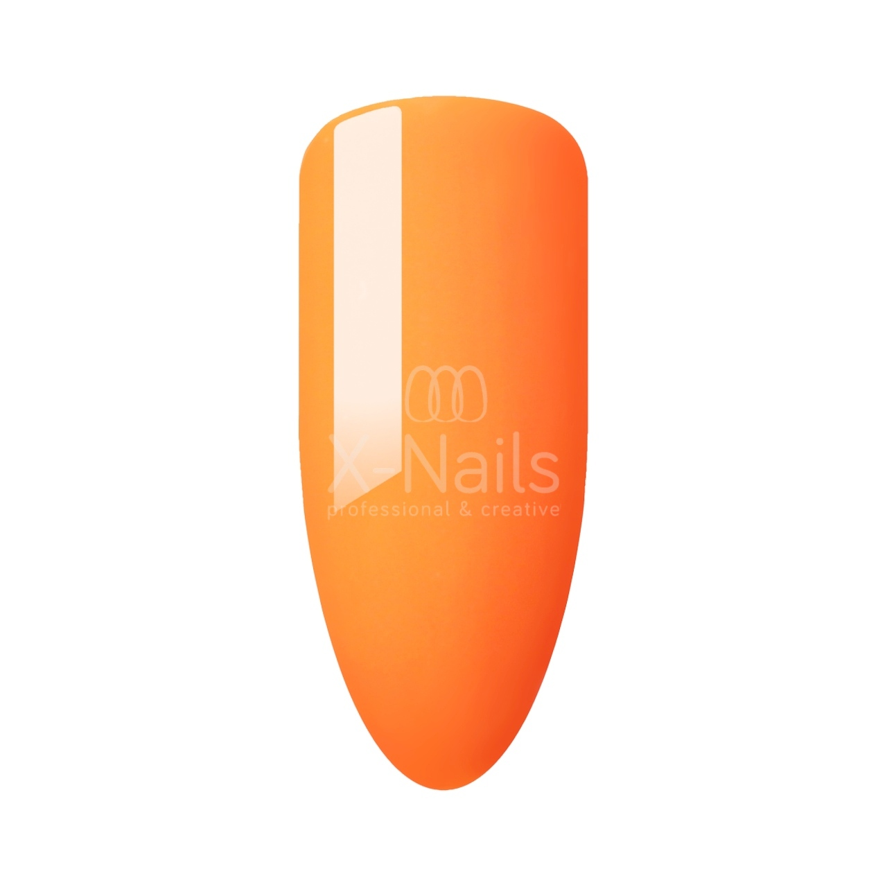 X-NAILS Gel lak Color Line, 15 ml – NEON ORANGE