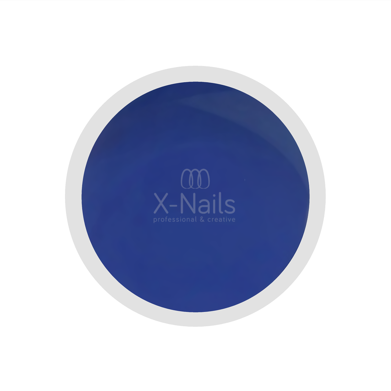 X-NAILS barevný UV gel Color Line, 5 ml - NIGHT BLUE