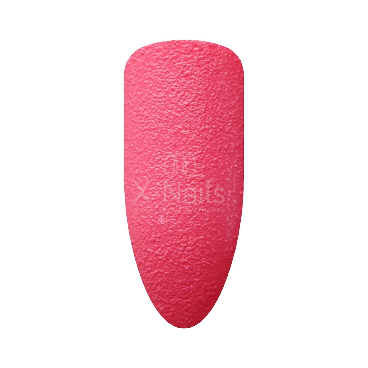 X-NAILS lak na nehty, 15 ml - 3D pískový efekt 115 - Sandy in Hot Pink