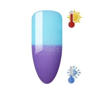 X-NAILS thermo gel lak Amazing Line 5 ml - LILAC BLUE ILLUSION