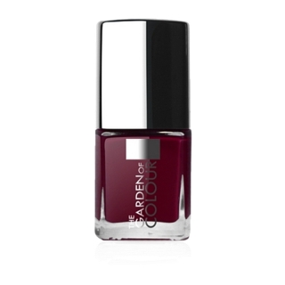 X-NAILS lak na nehty Color Line, 9 ml - DARK PURPLE, lesklý - 40