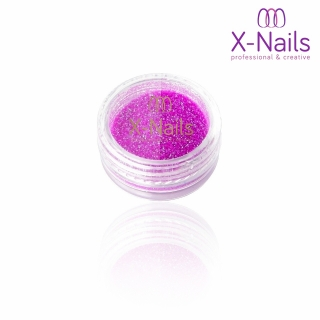 X-NAILS pigment na nehty svítící ve tmě - Glow in the Dark PURPLE