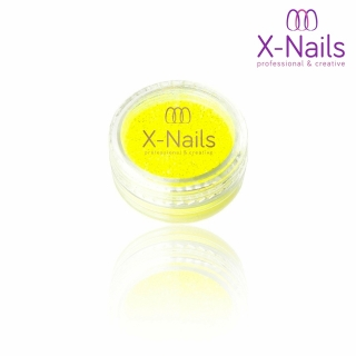 X-NAILS pigment na nehty svítící ve tmě - Glow in the Dark YELLOW