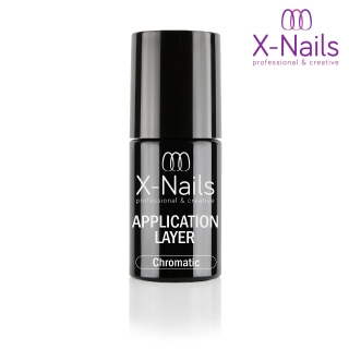 X-NAILS UV/LED gel lak pro leštící pigmenty 5 ml – CHROMATIC APPLICATION LAYER