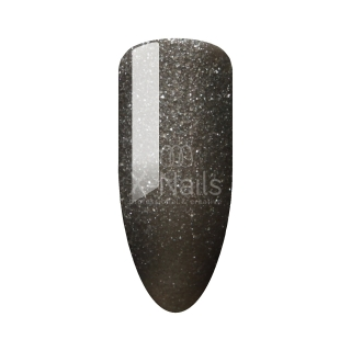 X-NAILS Gel lak Easy Line, 6 ml – SHIMMER ANTRACITE GREY