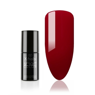 Bezvýpotkový no wipe gel lak Smart Line, 5ml - CARMINE RED