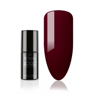 Bezvýpotkový no wipe gel lak Smart Line, 5ml - BURGUNDY RED