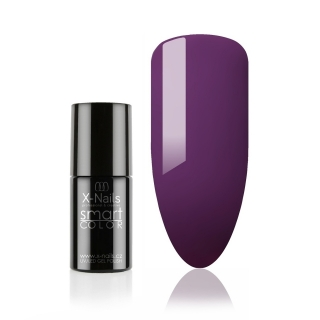 Bezvýpotkový no wipe gel lak Smart Line, 5ml - PLUM PURPLE