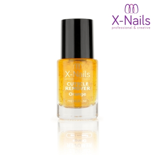 X-NAILS Odstraňovač kůžičky 11 ml - CUTICLE REMOVER ORANGE