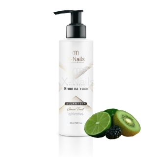 X-NAILS Krém na ruce s alantoinem, 200 ml - Green Fruit
